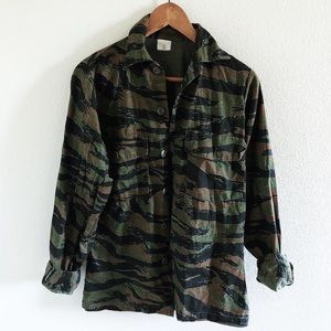 The Camo Jacket by Urban Outfitters
